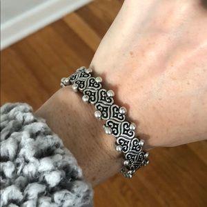 AVON Silver Deco Bracelet